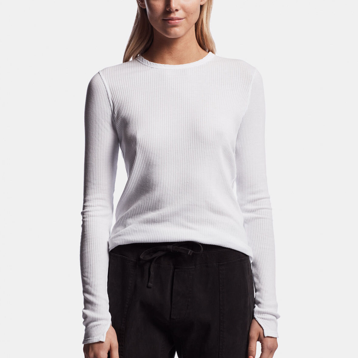 James Perse Jersey Ribbed Tee