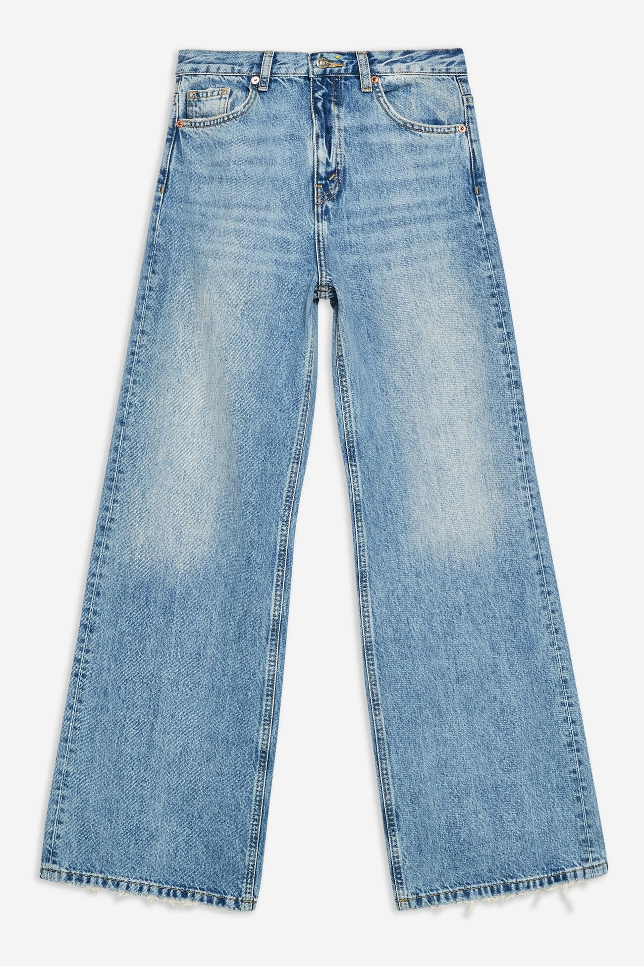 Topshop Wide Leg Jeans