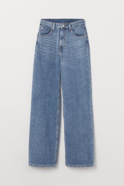 H&M Wide Leg Jeans