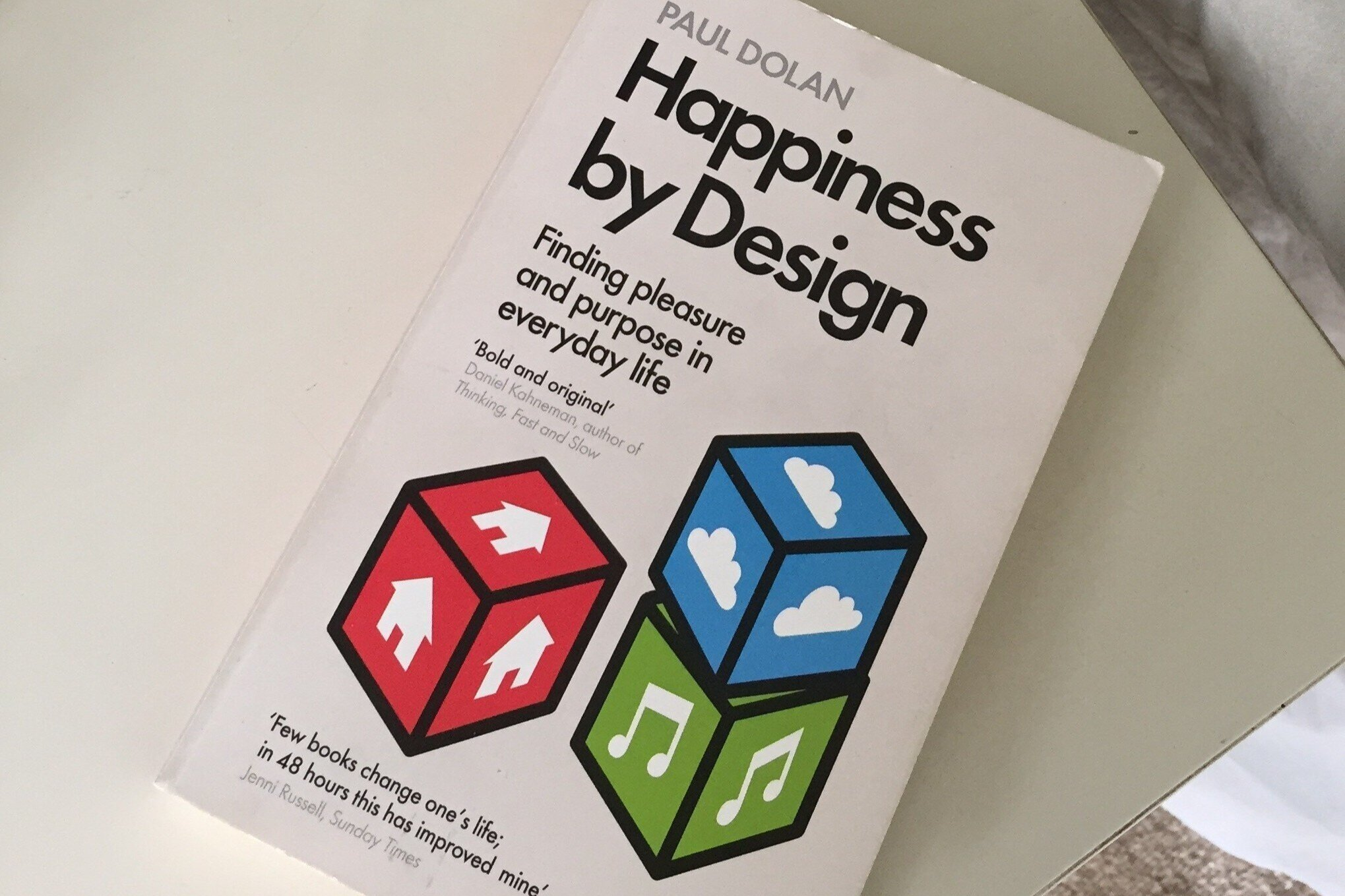 On Well-being - Happiness by Design by Paul Dolan (or Overwhelmed by Brigid Schulte).