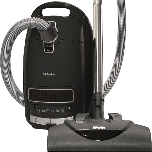 Miele Complete C3 Kona - $899.95   • 1,200–watt Miele-Made Vortex Motor™  • 6-setting suction control via +/- controls  • Exclusive AirClean Sealed SystemTM  • Type GN AirClean FilterBag™, 4.76 quart  • HEPA AirClean Filter (HA 50)  • Electro Plus Floorhead (SEB 228)  • Parquet Twister Floorhead (SBB 300-3)  • Integrated Dusting Brush, Upholstery Tool and Crevice Tool  • 36 ft cleaning radius  • 1 Yr Warranty, 7 Yrs Motor & Casing   Flooring:  Suitable for bare floor to medium cut pile carpeting.