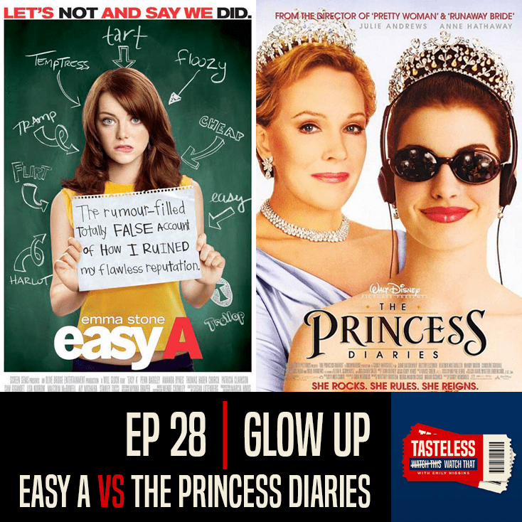 Easy A vs The Princess Diaries