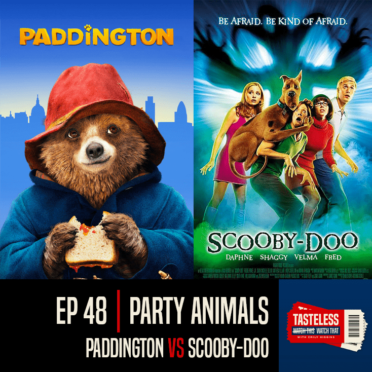 Paddington vs Scooby-Doo 2002