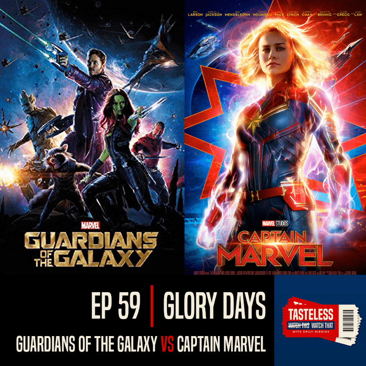 Guardians of the Galaxy vs Captain Marvel
