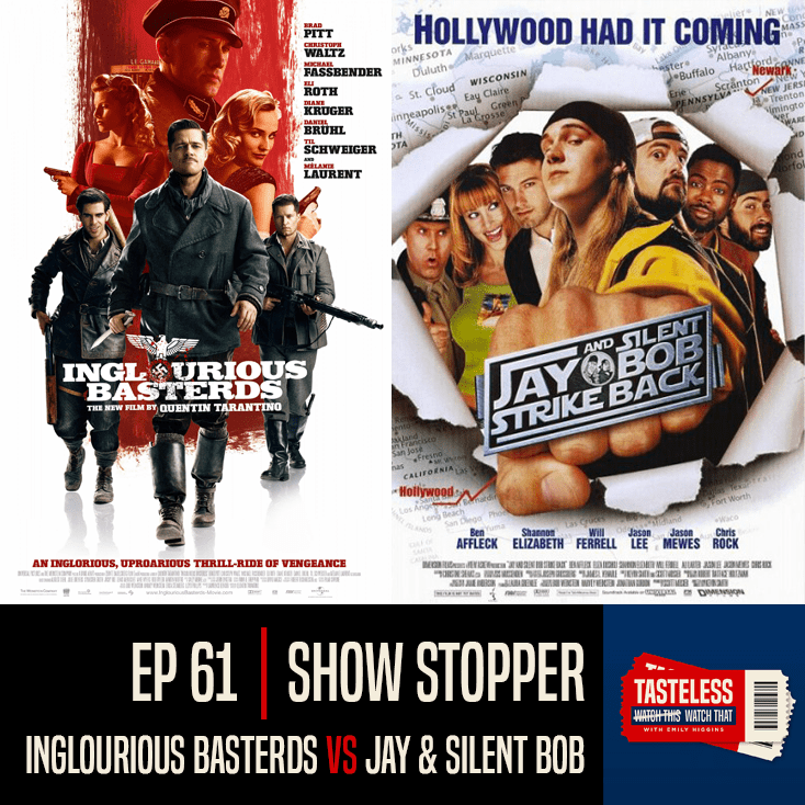 Inglourious Basterds vs Jay and Silent Bob Strike Back