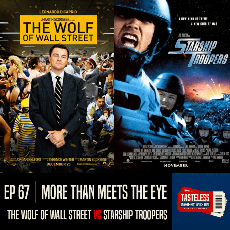 The Wolf of Wall Street vs Starship Troopers