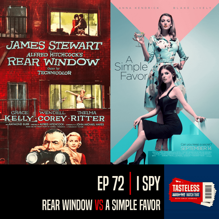 Rear Window vs A Simple Favor