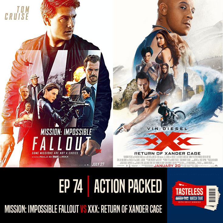 Mission Impossible Fallout vs XXX Return of Xander Cage