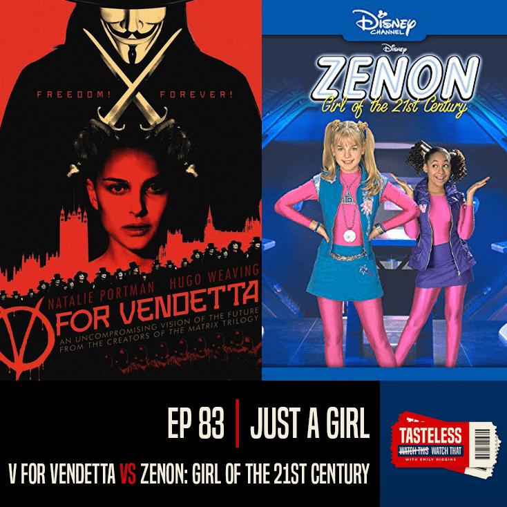 V for Vendetta vs Zenon: Girl of the 21st Century