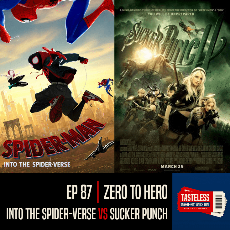 Spider-Man: Into the Spider-Verse vs Sucker Punch