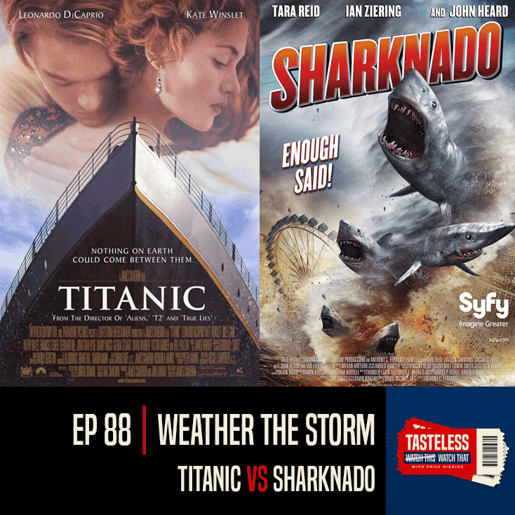 Titanic vs Sharknado