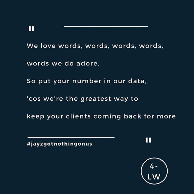 Improving Jay Z. - - - #fourletterword #copywriting #copywriter #amwriting #writing #writersofig #marketing #branding #brands #website #digital #jayz #leeds #yorkshire #leedsbusiness