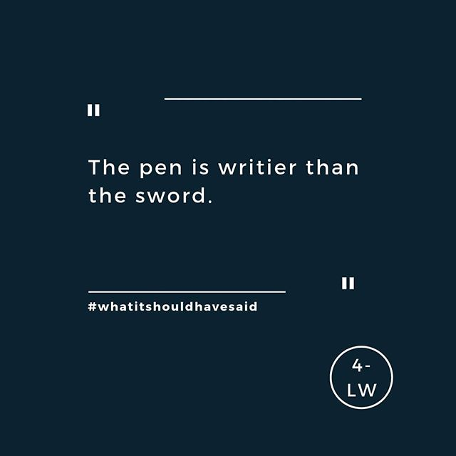 Pens. Great for writing, rubbish for sword fights. - - - #fourletterword #copywriting #copywriter #amwriting #writersofig #writing #marketing #copy #digital #website #branding #yorkshire #leedsbusiness