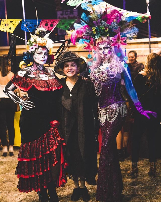 Having FOMO because you missed Dia de Los Muertos? Don't worry, only 349 days till next years event! #2018DDLM