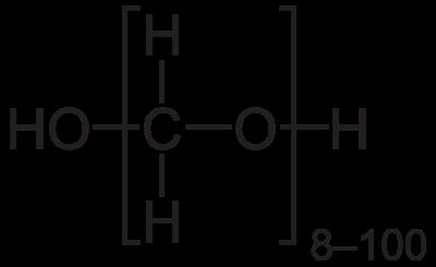 Paraformaldehyde action to fix tissue