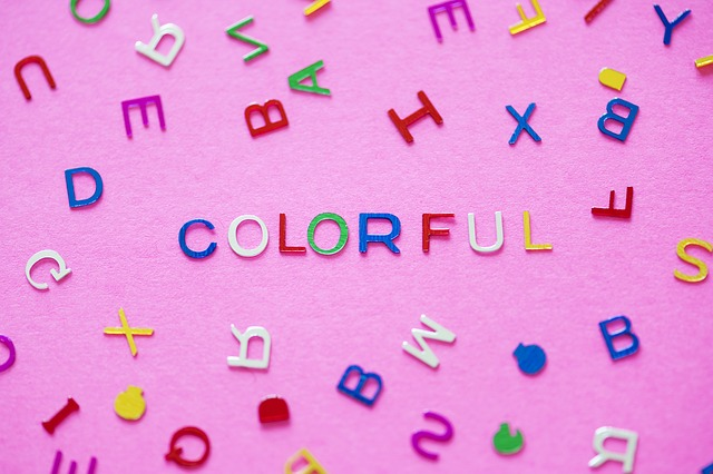 colored alphabet synesthesia