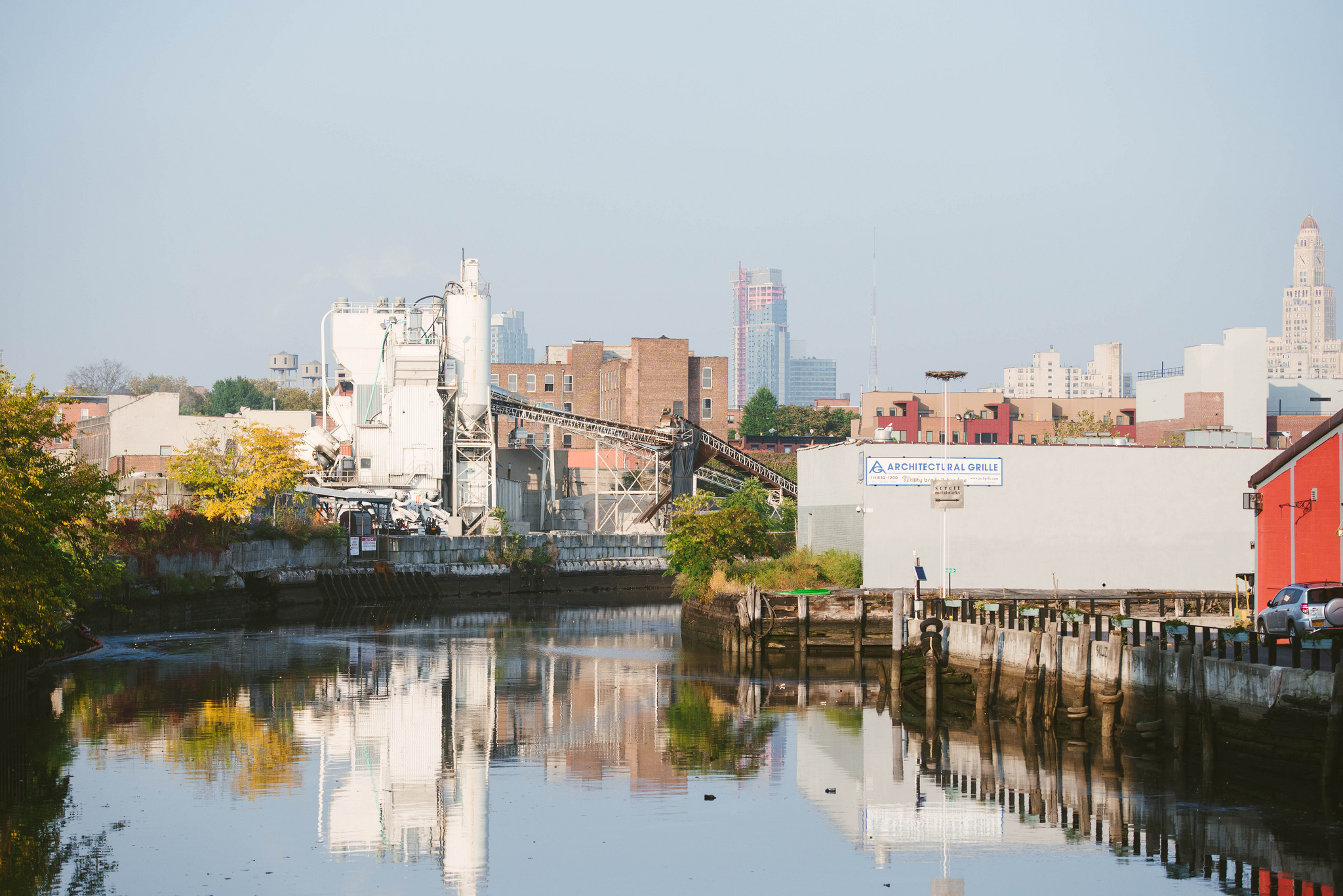 The beautiful, clean, sparkling Gowanus Canal