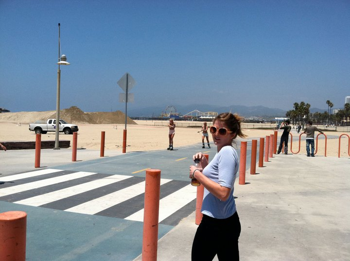 This may or may not be me in Manhattan Beach in 2011