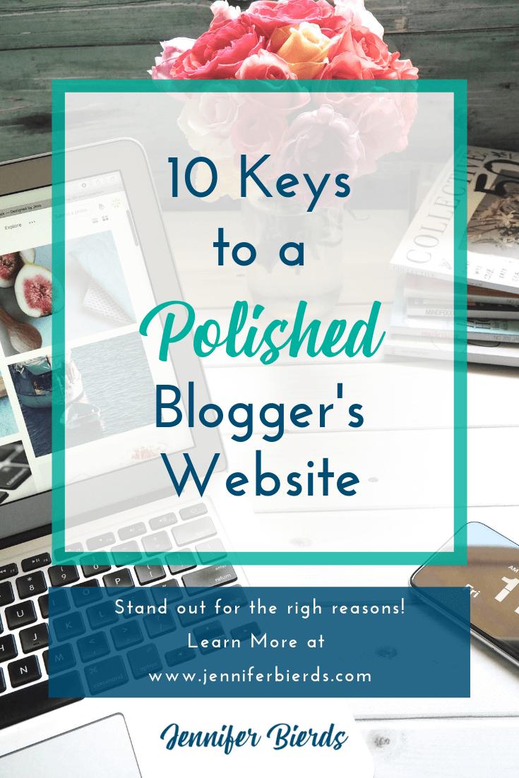 10 Keys to a Polished Blogger's Website.png