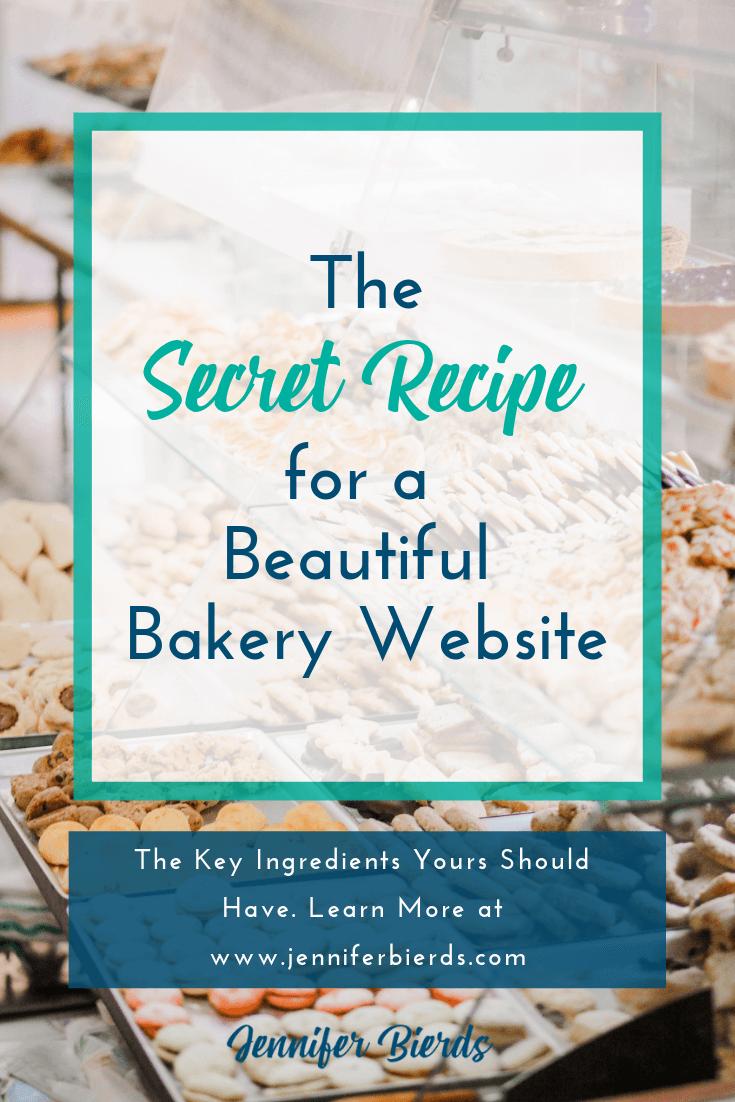 The Secret Recipe for a Beautiful Bakery Website — Jennifer Bierds