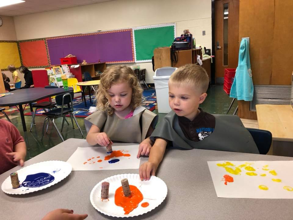 Preschool - 3 year olds - Three year olds are becoming social and playing with other children. They are also becoming more independant