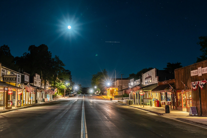 Downtown Julian;  Photo by Kevin Wixom Photography