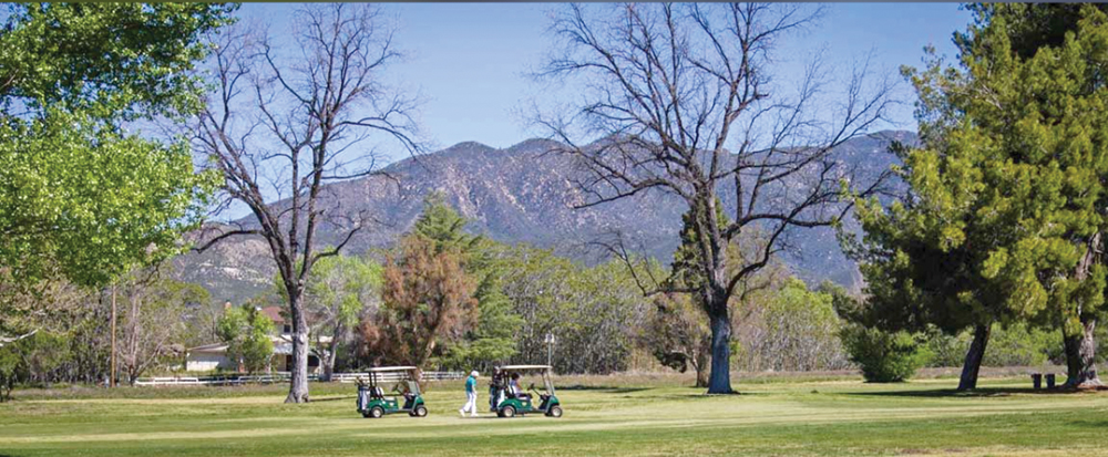 Warner Springs Ranch Resort Golf Course.  Photo Courtesy of Warner Springs Ranch Resort