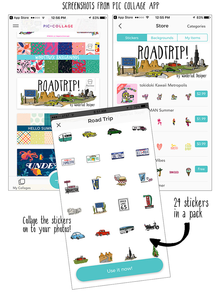 piccollagescreenshots_roadtrippackbyWanderlustDesigner.jpg