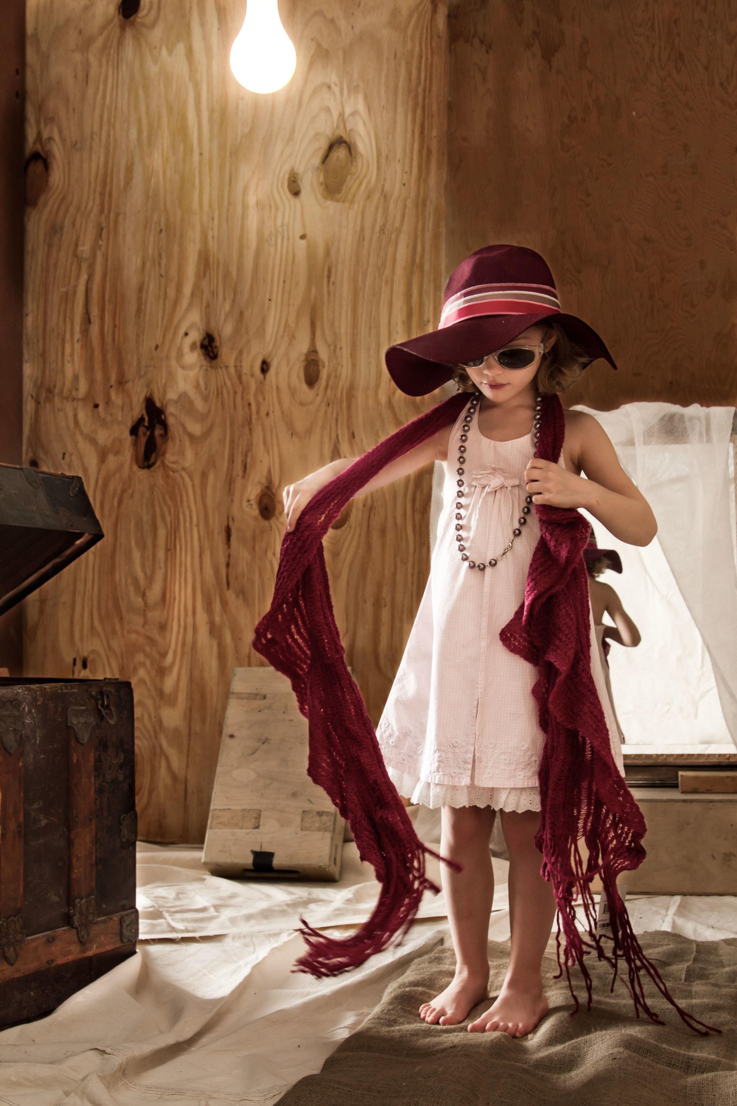 Little Girl Playing Dress-up.jpg