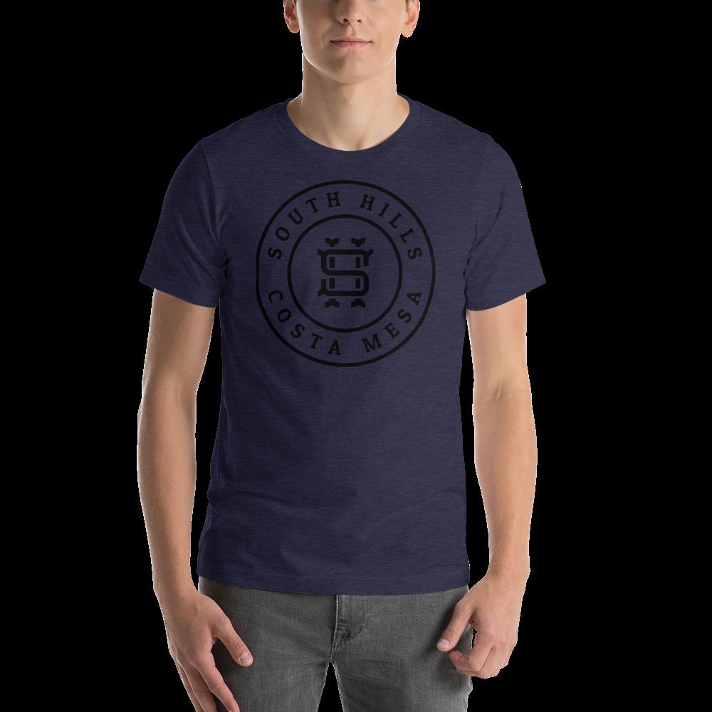 SHCM-Baseball-Badge-Black2x_mockup_Front_Mens_Heather-Midnight-Navy.png