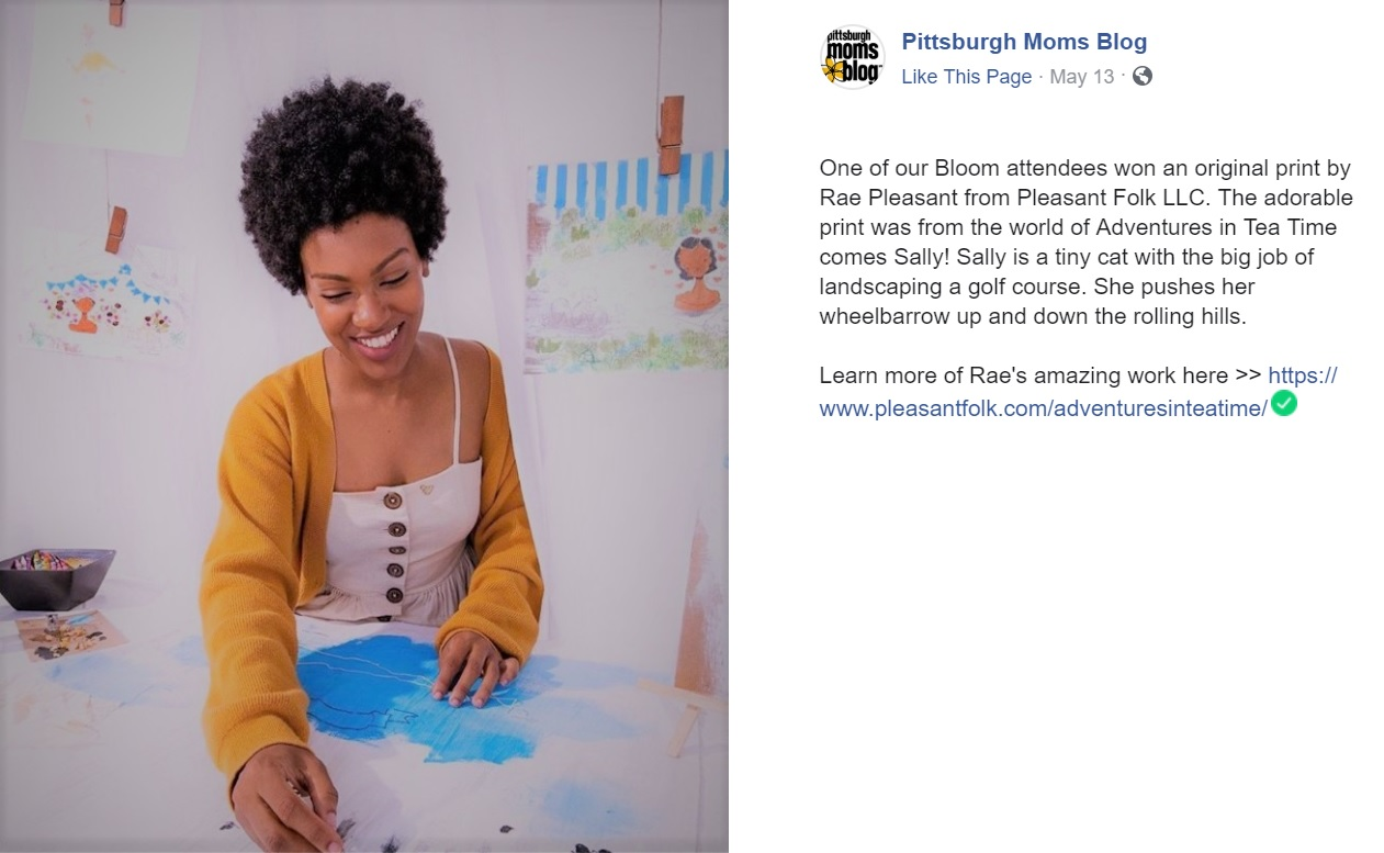 May 2019 Pittsburgh Mom's Blog BLOOM Facebook, Pittsburgh, PA