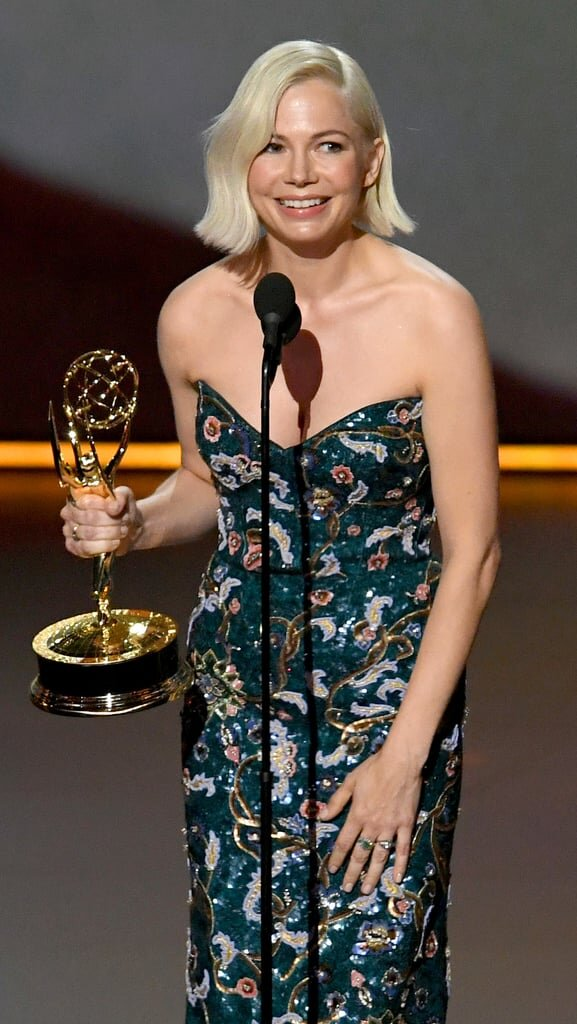 Michelle Williams, Outstanding Lead Actress in a Limited Series or Movie  Fosse/Verdon    71st Emmy Awards. Image via Television Academy