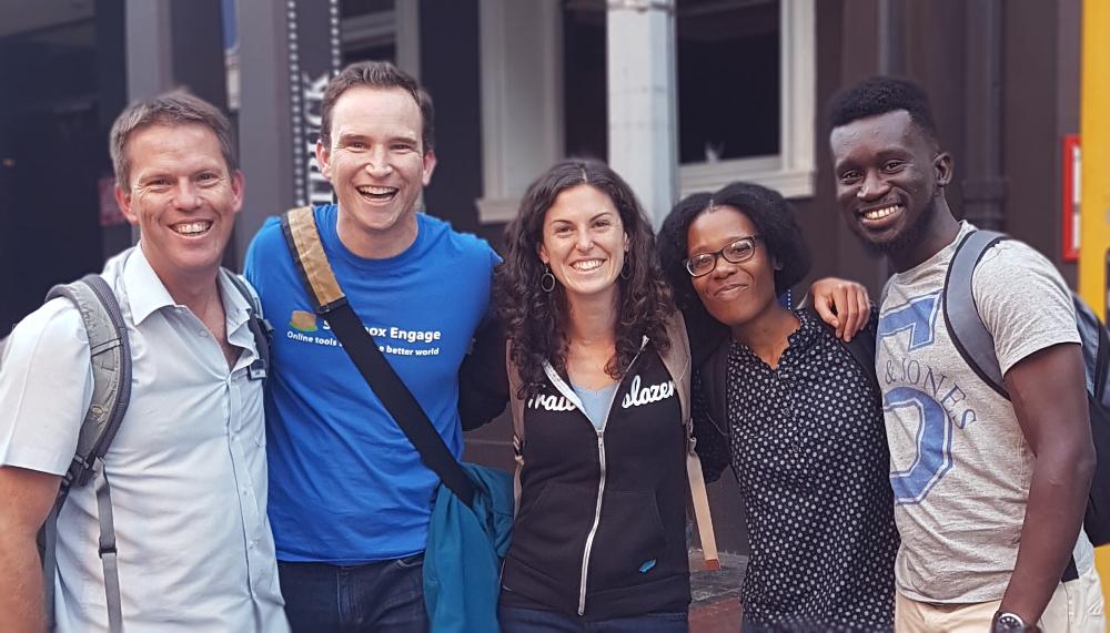Sam Vos (Connect Consulting, Host), Ryan Ozimek (Soapbox Engage), Katie McFadden (Common Voyage),Hetile Mabunda (Vera Consulting), Jesse Twum-Boafo (Vera Consulting)