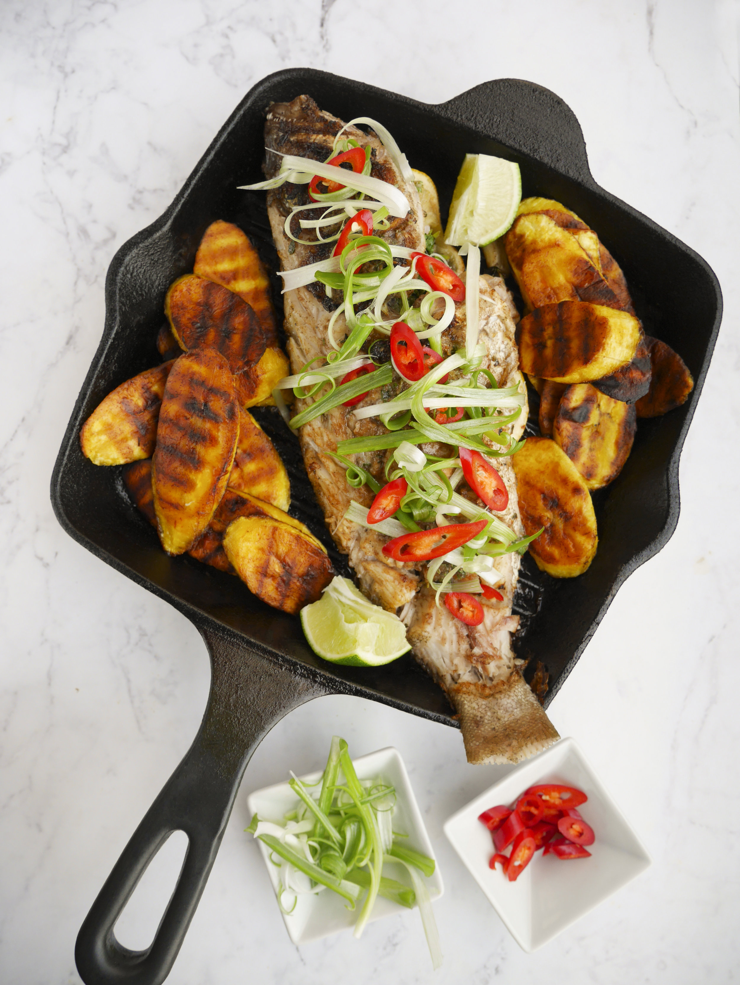 Carribean Grilled Fish