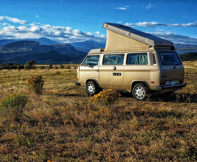 The Colorado mountains are calling! . . . We are throwing together a fun-filled campout in Southwest Colorado and hoping to meet like-minded van folks like YOU! If interested, check out the link in our profile for more info and to sign up! DM us with any questions! Hope to see you out there. . . Www.coloradowestyfest.org #westfalia #vwbus #vw #vwwestfalia #westylife #vanagon #vanagonlife #vanagonlove #camperlifestyle #volkswagen #volkswagenvan #volkswagenkombi #t3 #syncro #syncrolife #durangocolorado #colorado #southwestcolorado #campevent #campout