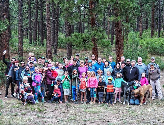 ALL the friendly faces from last year's Colorado Westyfest! 💚 We have some spaces left so if you're looking for a fun campout Labor Day weekend, check out the link in our profile for more info & to register! *family and dog friendly *fun events *live music *new friends *3-day event *Located in southwest Colorado 🌲 *And of course, VWs✌
