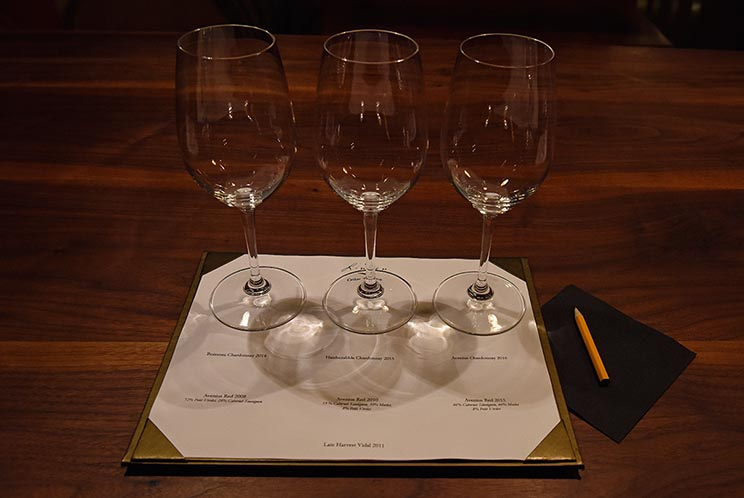 A comparative tasting in January 2019.