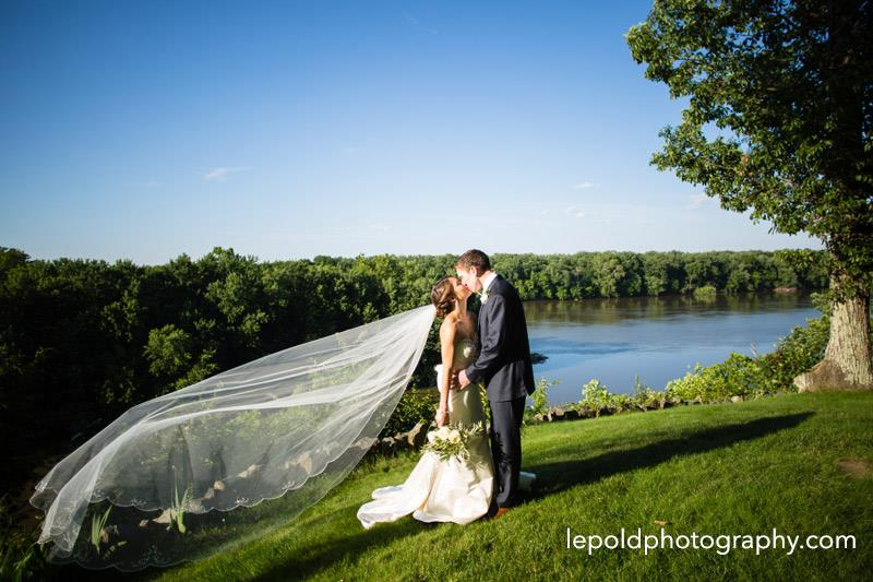 kylene and kyle at river - good! with veil .jpg