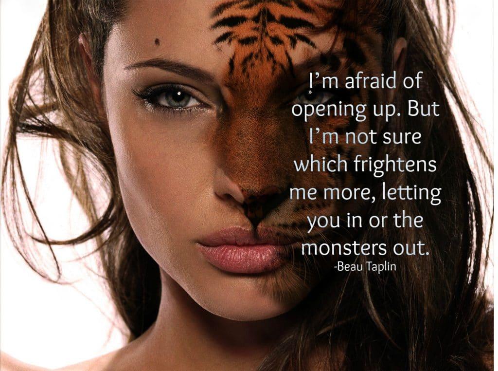 Afraid of Opening Up
