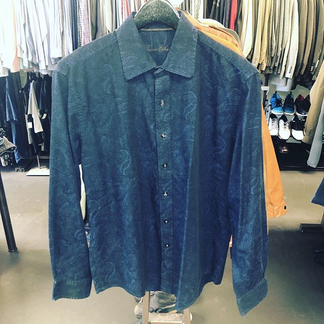 Men's Dress Shirt Tasso Elba Size Medium Navy $15 Today Only #sanantonio #resale