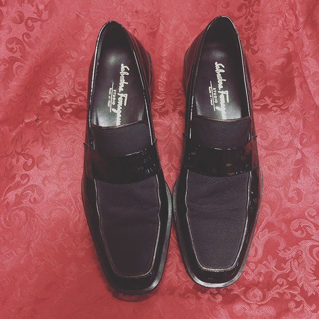 Do New Years right with GoodFellas in these Ferragamo slip ons size 7.5D for only $119.99 call 210-267-1674