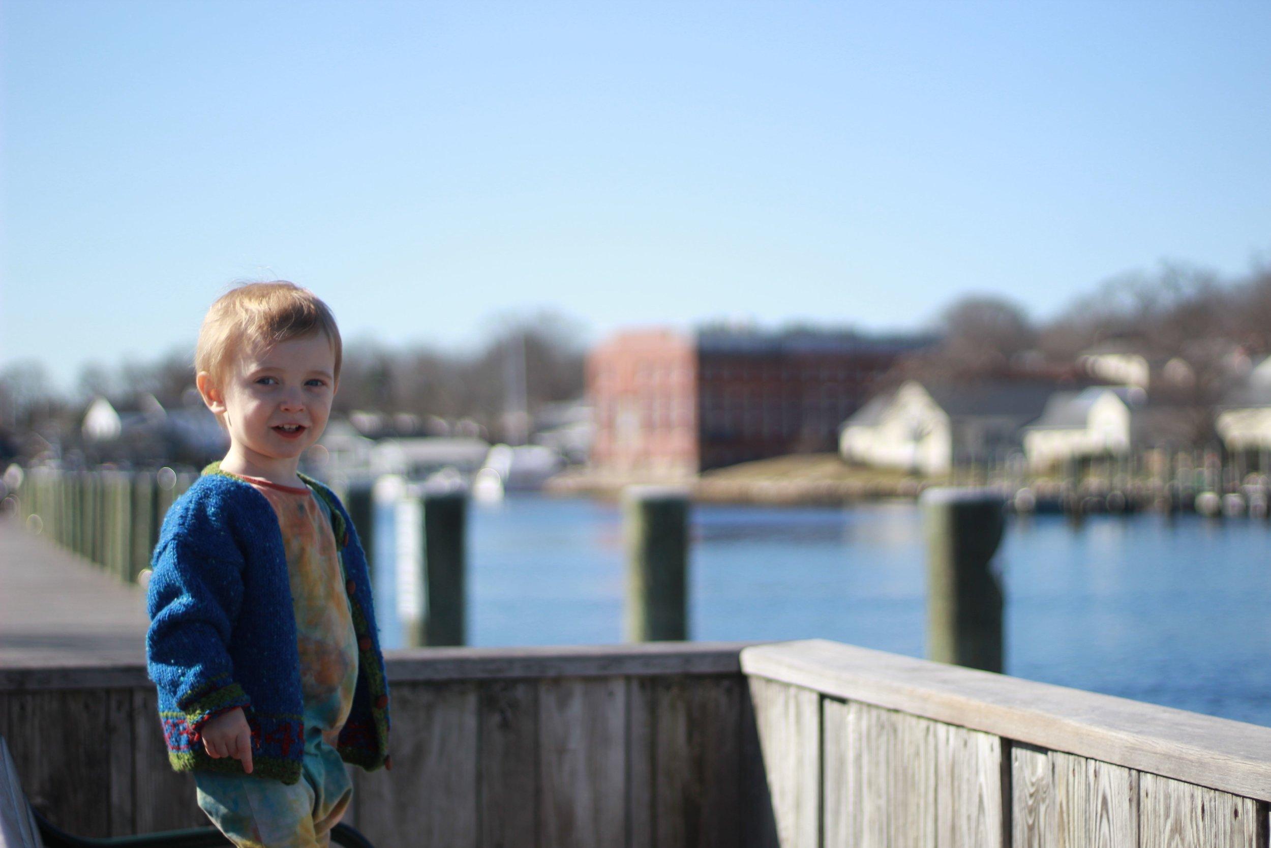Dax in Mystic, Connecticut - Elizabeth Holmes