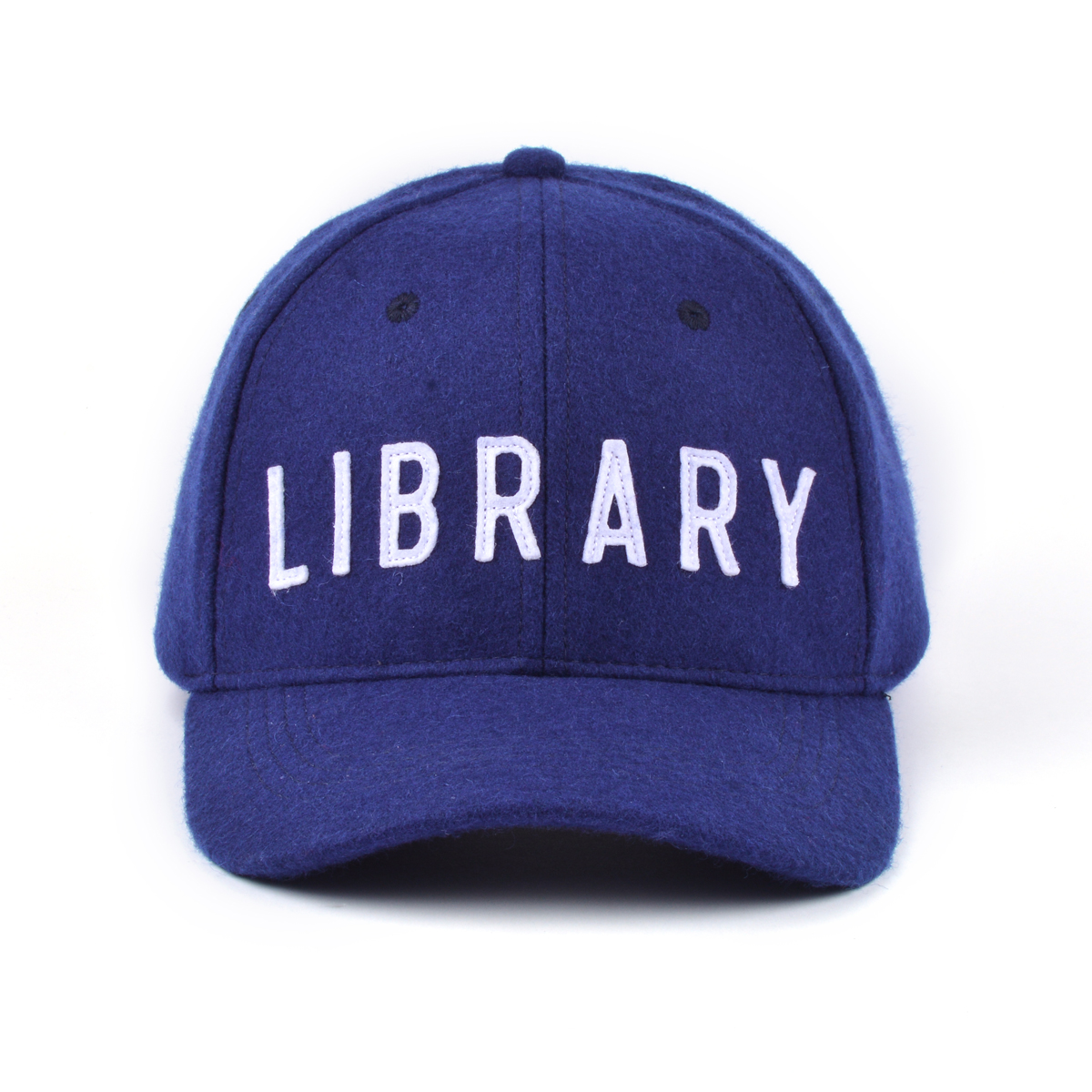 Library Hat Front.JPG