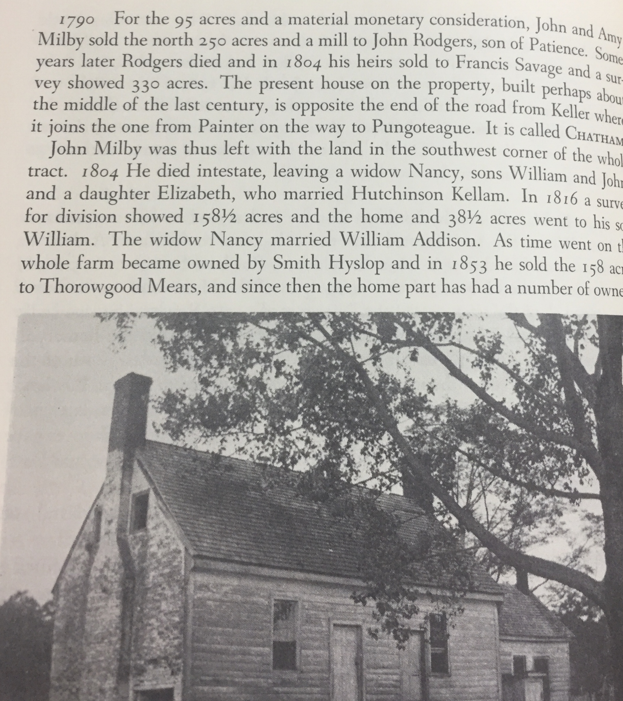 A portion of our Farm history - Local history of the home and farm in just one of the pages of the Whitelaws books