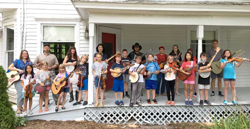 Alleghany JAM Summer Camp students - What a great group of musicians!