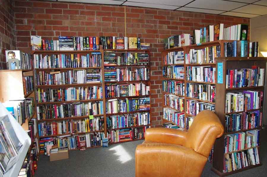 What is better than a comfortable chair in a quiet corner surrounded by books?