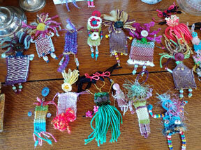 Handmade Fiber Dolls