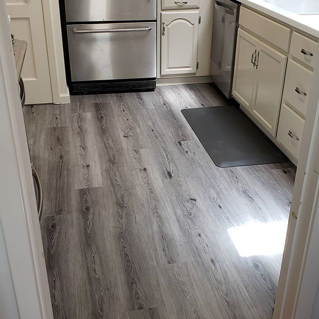 Beautiful LVT job we did in South City prior to new tenants moving in
