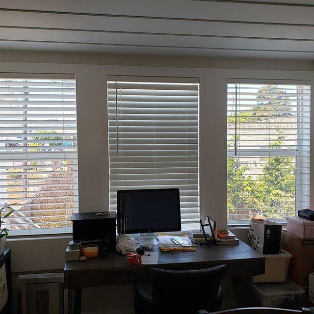 Norman window treatment job