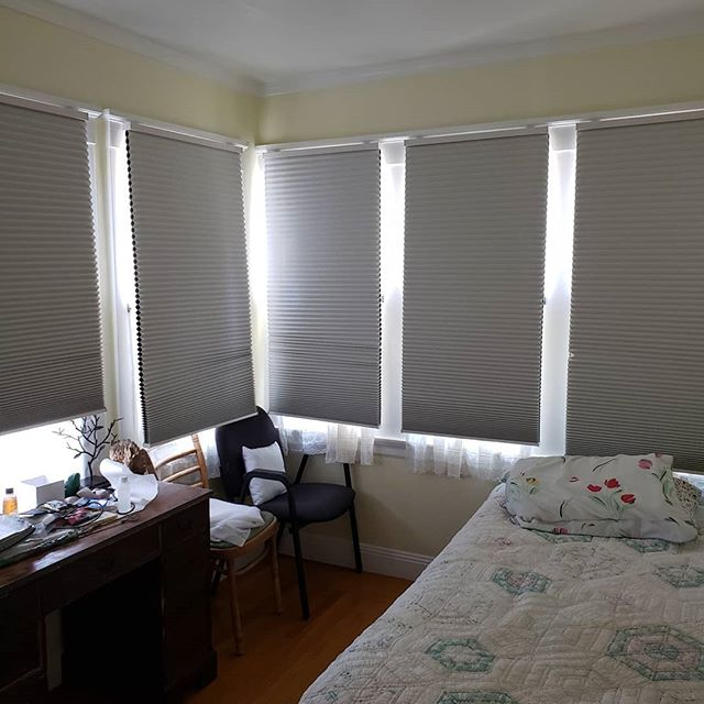 another cellular shades job by A Saberi Interiors